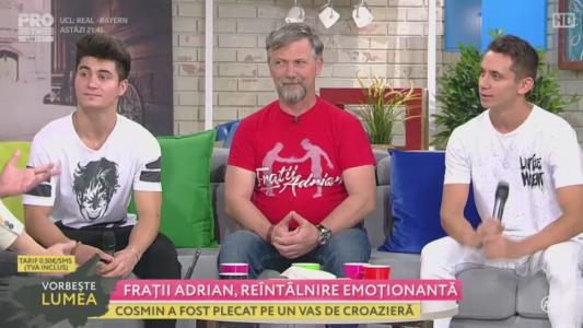Fratii Adrian, reintalnire emotionanta