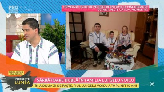 Sarbatoare dubla in familia lui Gelu Voica