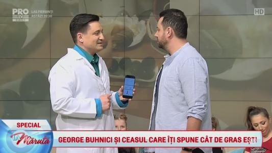 George Buhnici si ceasul care iti spune cat de gras esti
