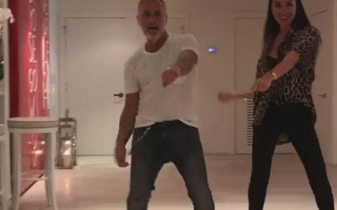 Gianluca Vacchi si partenera lui, video incendiar alaturi de interpretul melodiei  Despacito