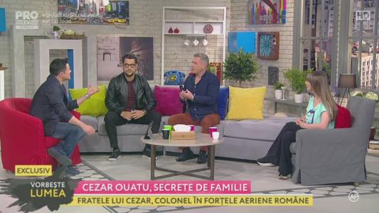 Cezar Ouatu, secrete de familie