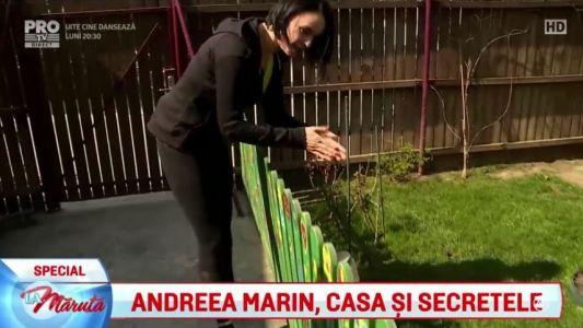 Andreea Marin, casa si secretele