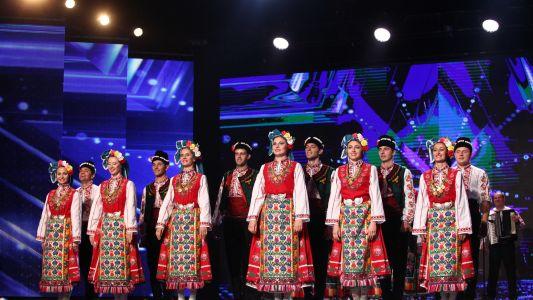 Romanii au Talent 2017: Ansamblul Popular Rodoliubie - moment de dans si cantec bulgaresc