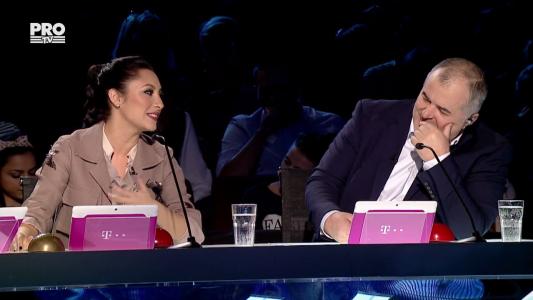 Romanii au Talent 2017: Surpriza lui Maruta pentru Andra