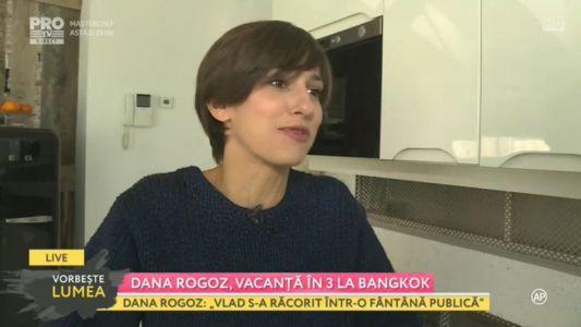Dana Rogoz, vacanta in 3 la Bangkok