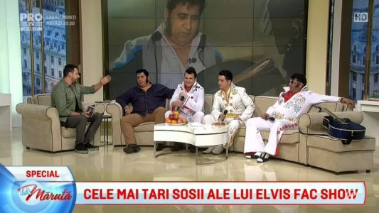 Spectacol regesc in numele lui Elvis