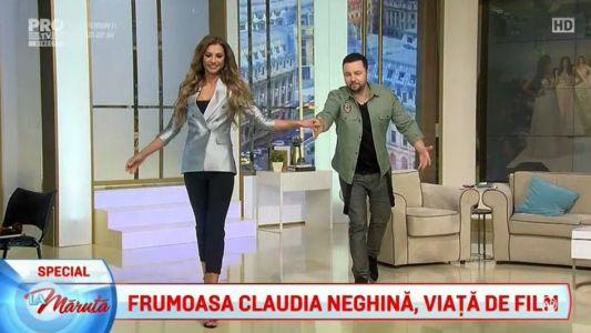 Frumoasa Claudia Neghina, viata de film