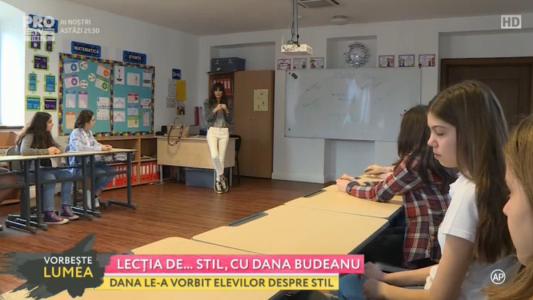 Lectia de stil cu Dana Budeanu