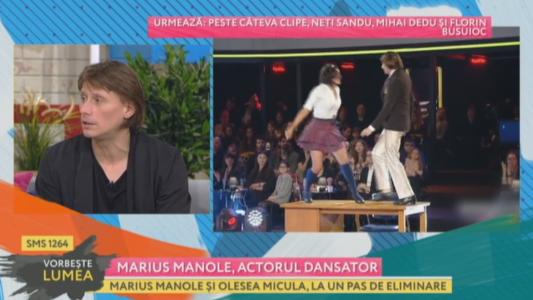 Marius Manole, actorul dansator