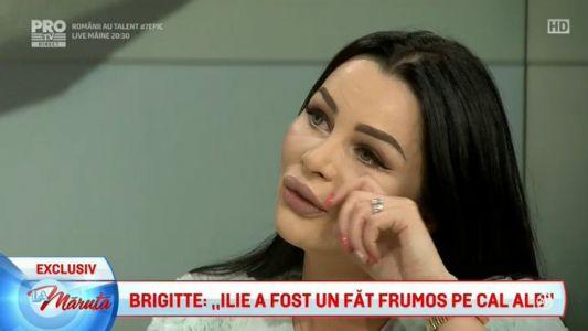 "Brigitte: ""As vrea sa fiu rasfatata cum a fost Amalia"""