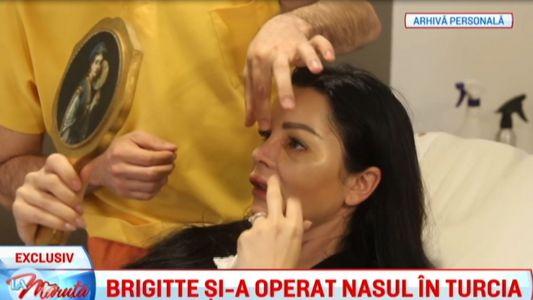 Brigitte si-a operat nasul in Turcia