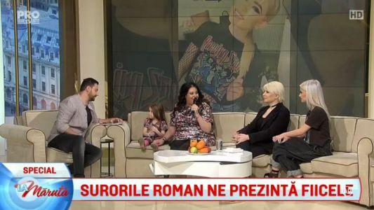 Surorile Roman isi prezinta fiicele
