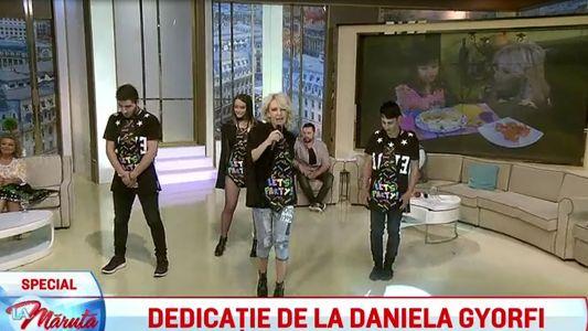Dedicatie de la Daniela Gyorfi
