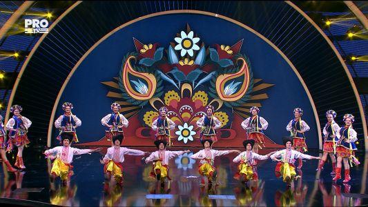 Romanii au talent 2017 - Semifinala 1: Ansamblul Kozaciok - Dans ucrainean