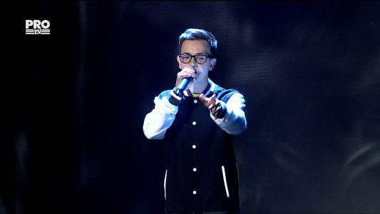 Romanii au talent 2017 - Semifinala 1: Marius Mihaila - Interpreteaza o piesa hip-hop