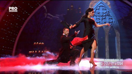 Romanii au talent 2017 - Semifinala 1: Kicski Csongor si Antonella Terrazas - Tango