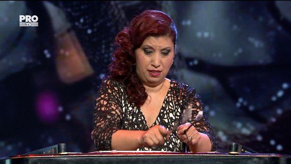 Romanii au talent 2017 - Semifinala 1: Nicoleta Tudorache - Canta la tambal