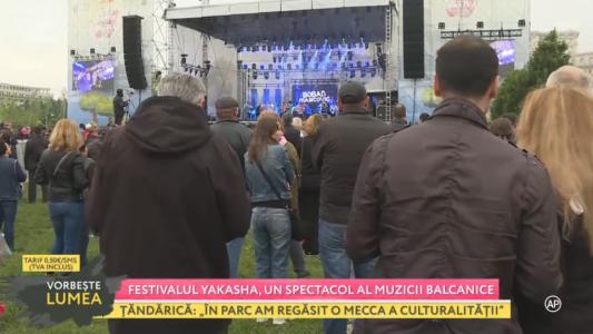 Festivalul Yakasha, un spectacol al muzicii balcanice