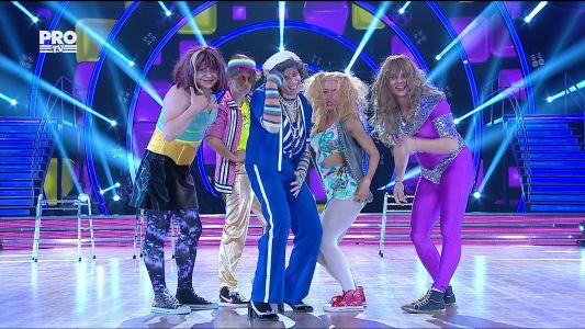 Uite cine danseaza 2017: Marius & Olesea - Parodie Freestyle