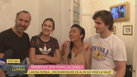 Sportivii din familia Oprea