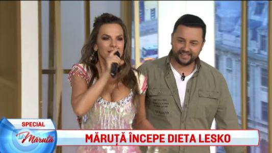 Maruta incearca dieta Lesko