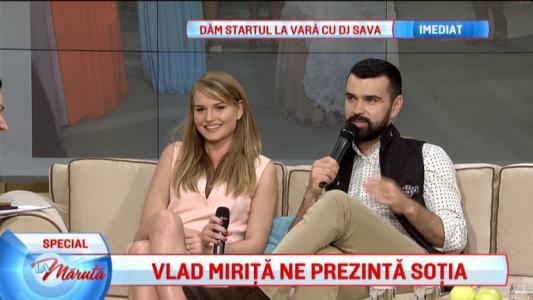 Vlad Mirita ne prezinta sotia