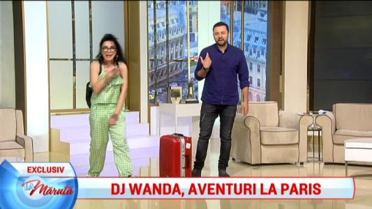 DJ Wanda, aventuri la Paris