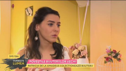 Patricia de la Amadeus colectioneaza bijuterii