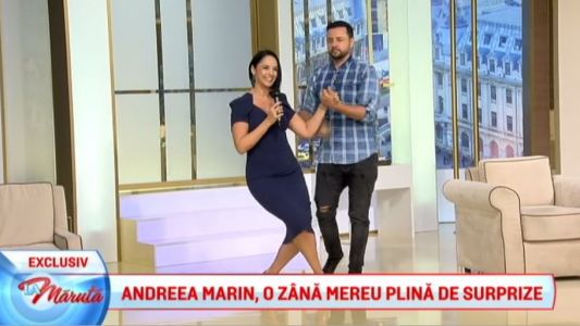 Andreea Marin, o zana mereu plina de surprize