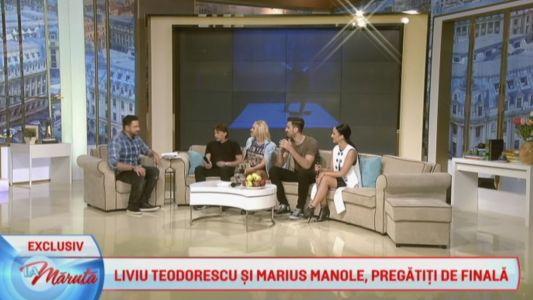 Liviu Teodorescu si Marius Manole, pregatiti de finala Uite cine Danseaza