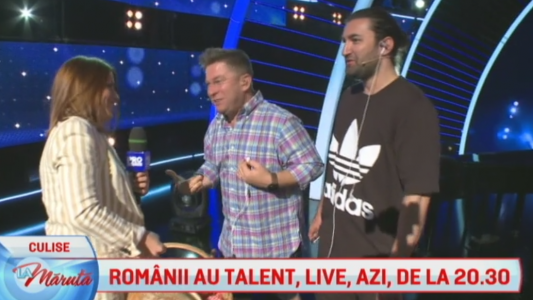 Din culisele Romanii au talent