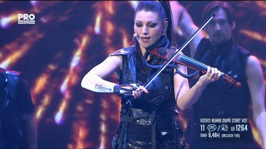 Romanii au talent 2017 - Semifinala 2: Lavinia Sateanu - canta la vioara