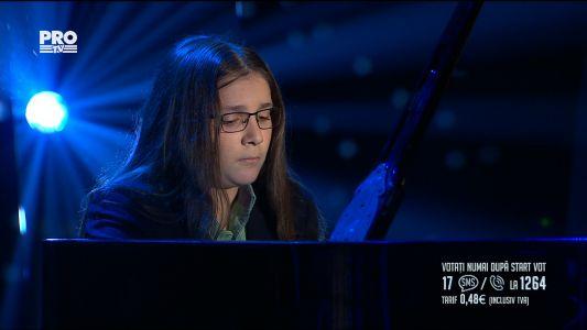 Romanii au talent 2017 - Semifinala 2: Silviu Rosu - canta la pian
