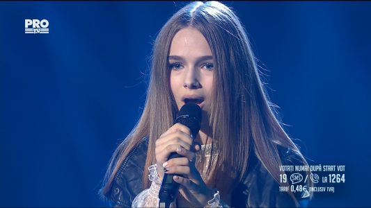 Romanii au talent 2017 - Semifinala 2: Eva Timus - Eye of a needle