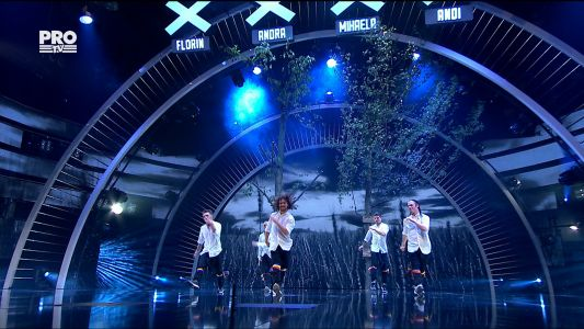 Romanii au talent 2017 - Semifinala 2: OK World Wide - dans acrobatic
