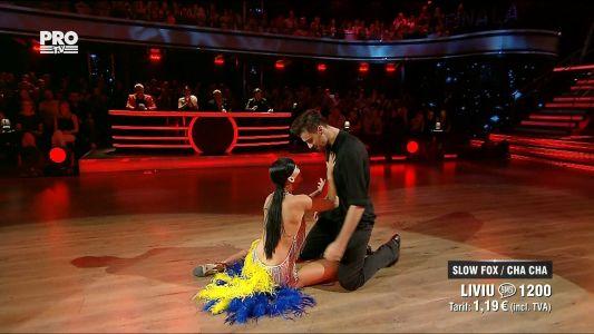 Uite cine danseaza 2017: Liviu Teodorescu si Marica Derdene - Fusion