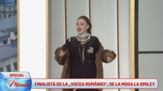 Finalista de la Vocea Romaniei, de la Moga la Smiley
