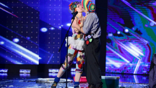 Romanii au talent 2017: Dr. Bubble si Milkshake - Teatru pentru copii