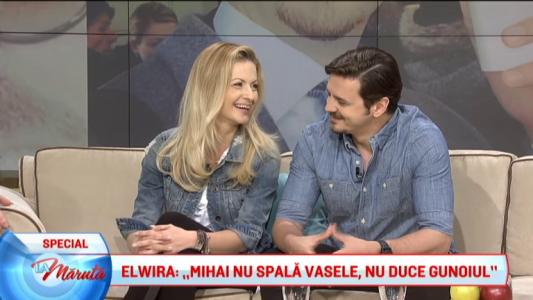 Elwira si Mihai Petre, intre familie si ringul de dans