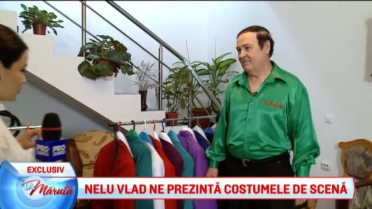 Nelu Vlad ne prezinta costumele de scena