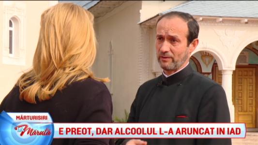 E preot, dar alcoolul l-a aruncat in iad