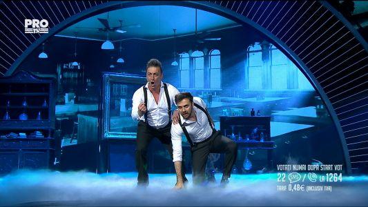 Romanii au talent 2017 - Semifinala 3: Florin Butnaru si Luca Rubino - Interpreteaza Confrontation