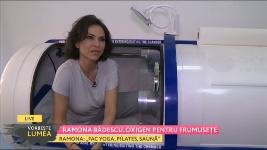 Ramona Badescu, oxigen pentru frumusete