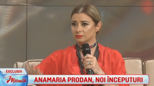 Anamaria Prodan a vorbit despre plecarea lui Reghe