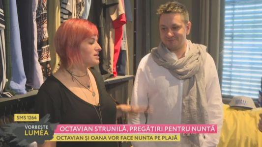 Octavian Strunila, pregatiri pentru nunta