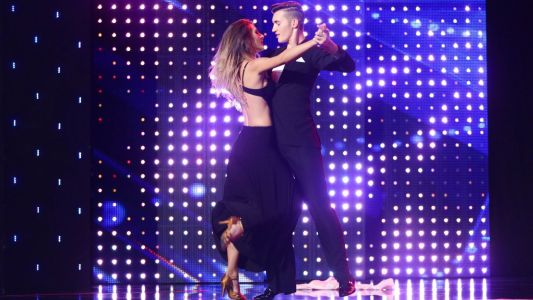Romanii au talent 2017: Beatrice Smit si Robert Dumbrava - moment de tango