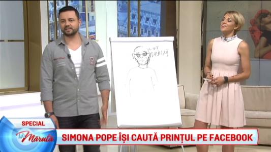 Simona Pope isi cauta printul pe Facebook