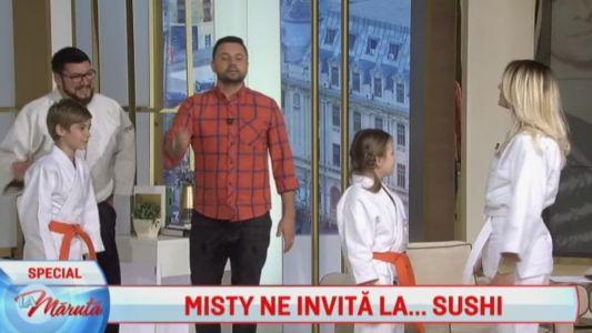 Misty ne invita la Sushi