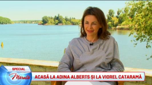 Acasa la Adina Alberts si Viorel Catarama