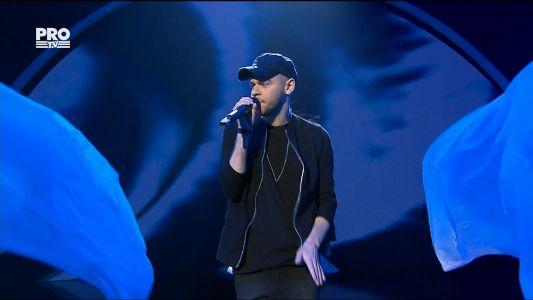 Romanii au talent 2017 - Semifinala 4: Dumitru Mardari - Interpreteaza piesa Rap God